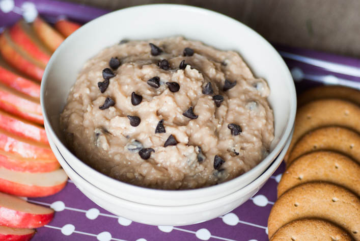 Healthy cookie dough dip - la godiche 3