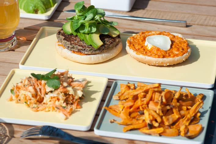 Veggie burger - la godiche 4