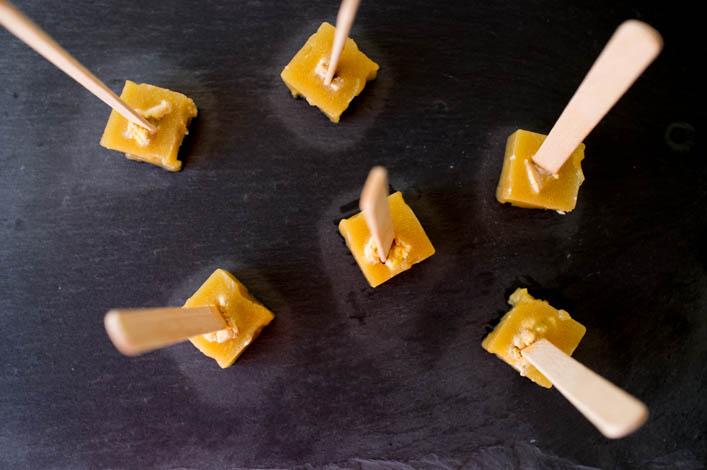 Bonbons foie gras et pomme 1 la godiche