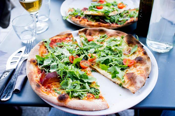 Resto la cerise sur la pizza paris - 1 la godiche