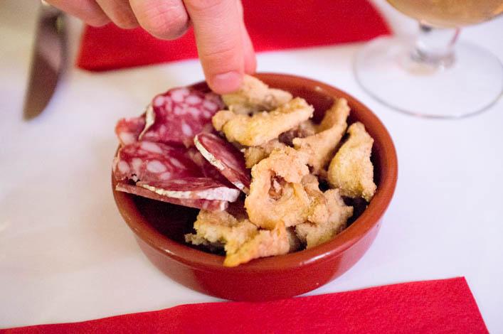 grattons gras de porc frit - la godiche