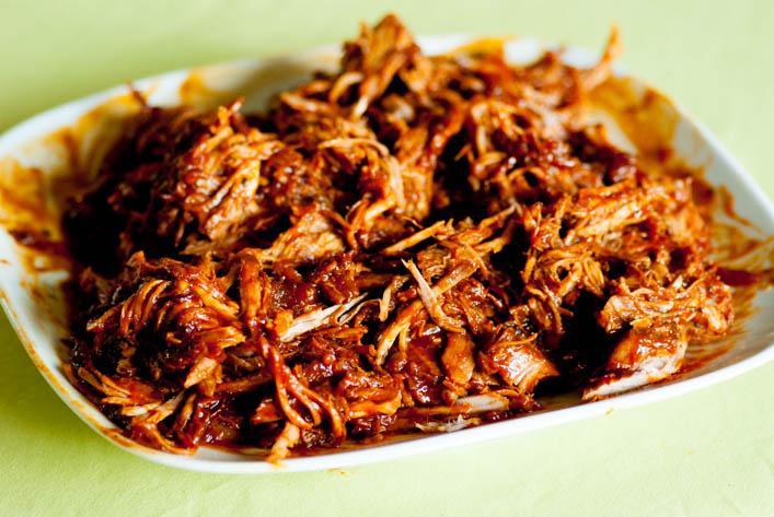 Pulled pork ou porc effiloché sur le blog la godiche