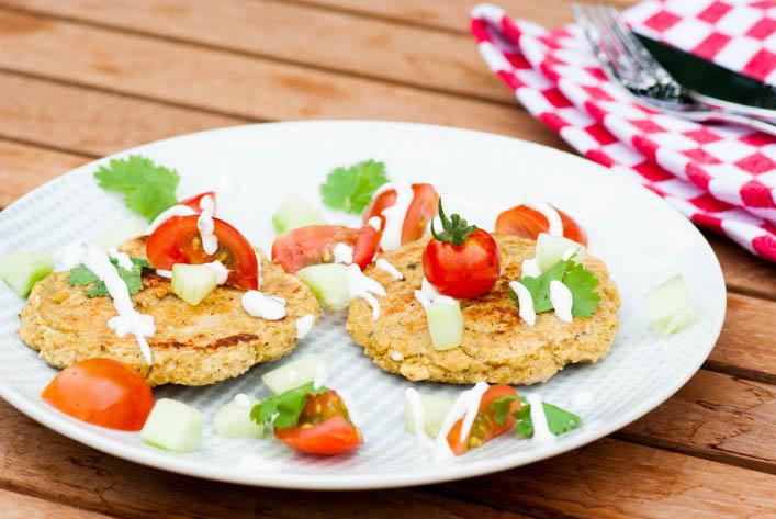 Assiette de falafels au four healthy sur la Godiche