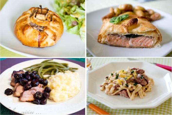 24 idées recettes faciles rapides et gourmandes pour les fêtes et noel sur la Godiche