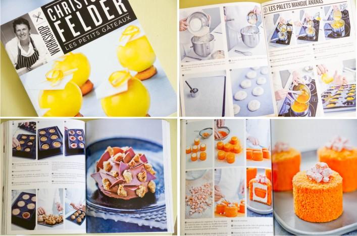 livre Les petits gâteaux de Christophe Felder