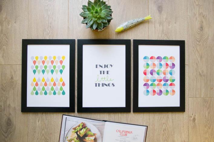 Trio affiches geometriques godiche 3