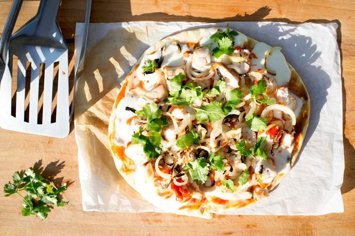 Comment faire cuire ses pizzas au barbecue sur la Godiche