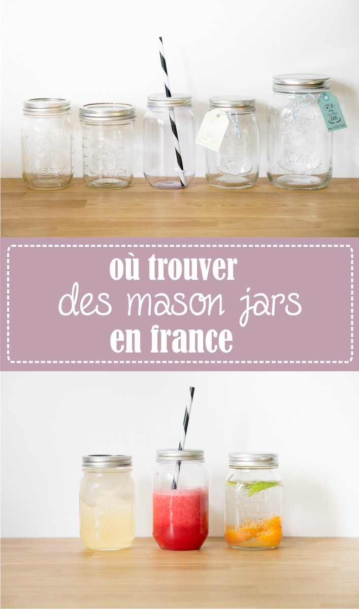 godiche o trouver des mason jars en france godiche. Black Bedroom Furniture Sets. Home Design Ideas