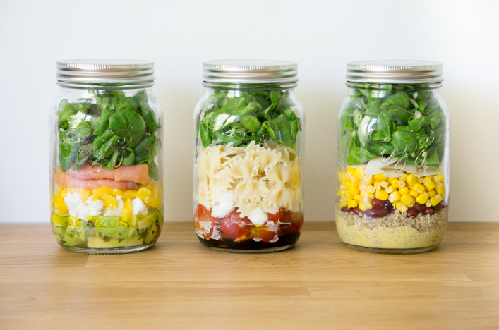 godiche salades in a jar astuces et recettes godiche. Black Bedroom Furniture Sets. Home Design Ideas