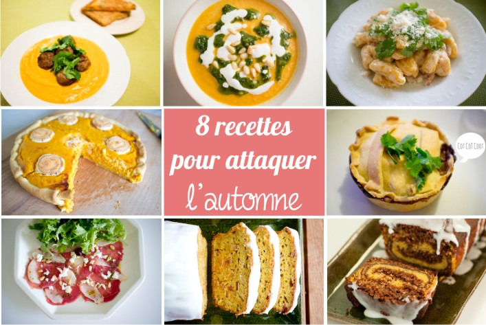 8 recettes gourmandes pour affronter l'automne sur la godiche - potiron - potimarron - courge - carotte