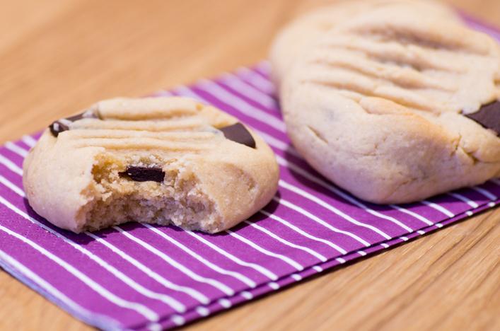 Cookies au beurre de cacahuète recette sur la Godiche