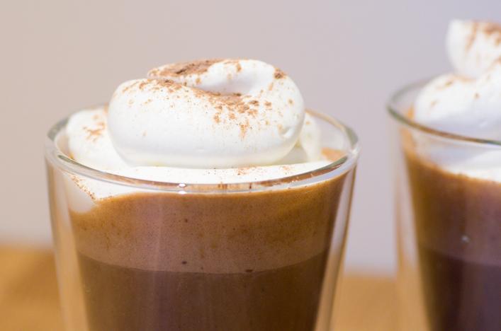 Chocolat chaud à la citrouille recette sur la godiche