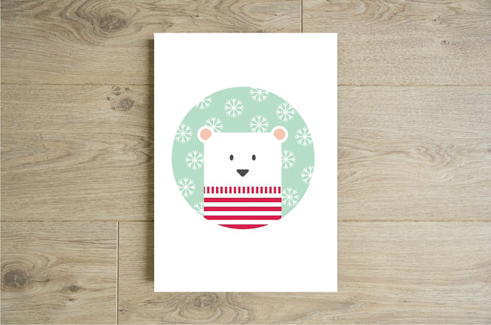 affiche-ours-pull-marin-neige-etsy-godiche-shop