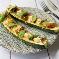 Courgette pizza ou pizza courgette recette healthy rapide et facile sur la Godiche