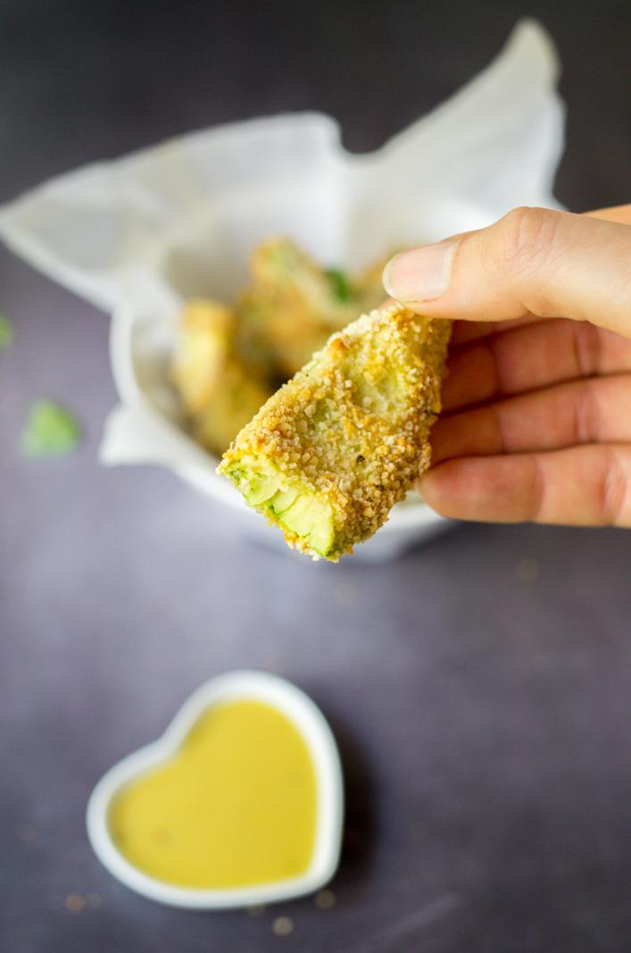 Avocat pané au four recette originale sur la godiche