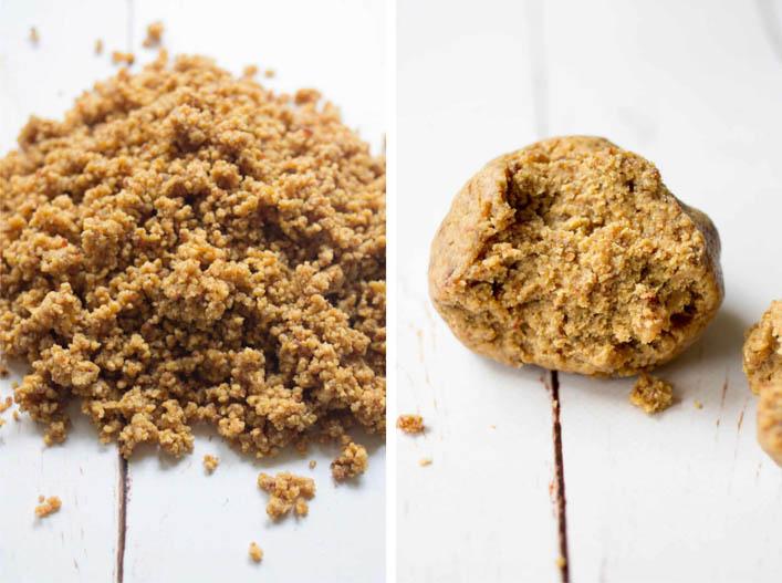 Cookies crus au beurre de cacahuète sur la Godiche / www.lagodiche.fr