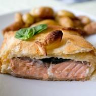 feuillette-saumon-basilic-béchamel-godiche