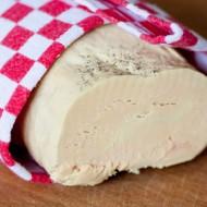 Foie gras facile sans cuisson cuit au sel sur la Godiche
