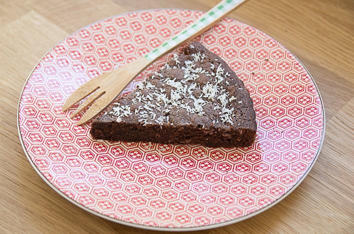 Recette gâteau au chocolat au beurre salé sur la Godiche