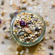 Granola au quinoa soufflé recette sur la godiche