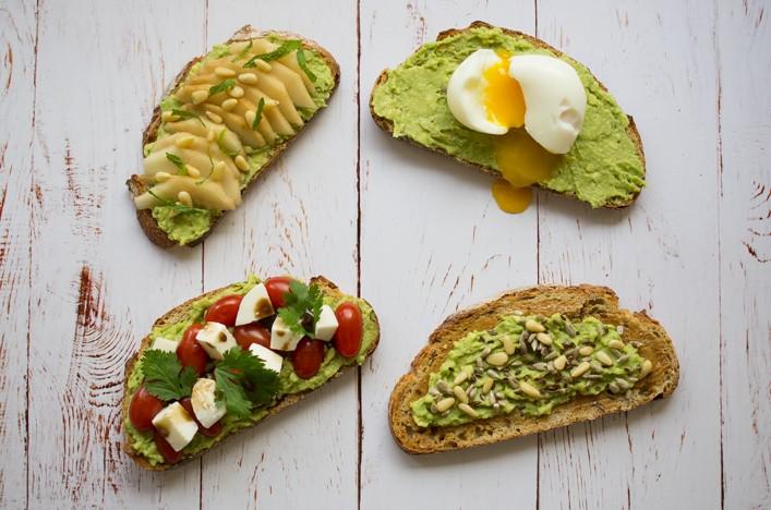 Avocado toast 4 recettes sur la godiche - Tartines avocat - Guacamole